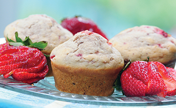 oab diet recipe, fabulous fruit muffins
