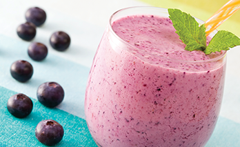 oab diet recipe, purple passion smoothie