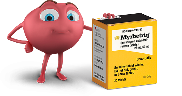 why myrbetriq for overactive bladder treatment, oab