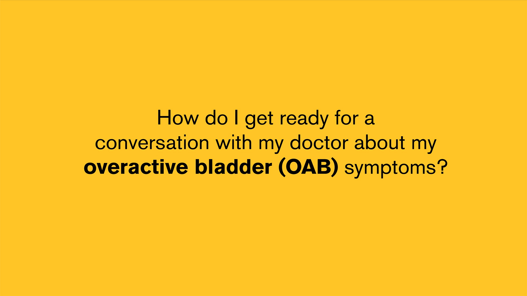 Start Conversation with Your Doctor